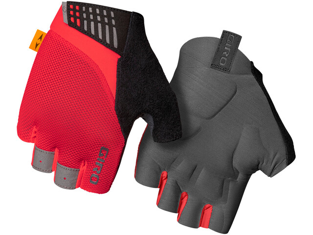 Giro Supernatural Gloves Women, rojo/gris